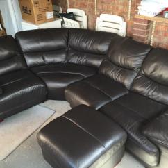 Chesterfield Leather Sofa For Sale Kiln Dried Wood Frame Dfs Corner | In Hetton-le-hole, Tyne And Wear ...