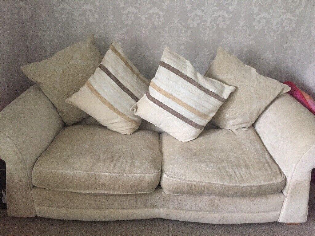 corner sofa bed east london eilersen baseline m chaiselong dfs cream double in gumtree