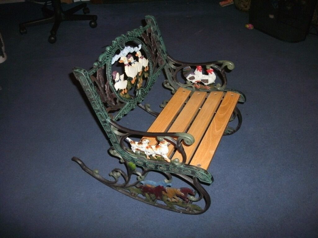 Iron Rocking Chair Small Cast Iron Rocking Chair In Derby Derbyshire Gumtree