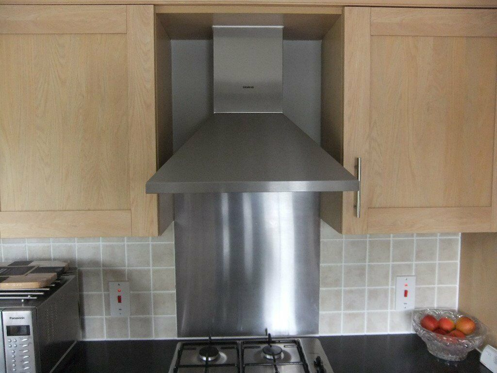 extractor fan kitchen cart amazon siemens oven and carbon filter in