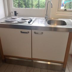 Free Standing Kitchen Sink Rustic Table Sets Ikea Varde Freestanding Unit Tap And Hop With