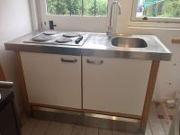 Ikea Varde freestanding kitchen unit sink tap and hop with ...