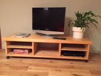 TV Table with storage space in Beech from IKEA - REDUCED ...