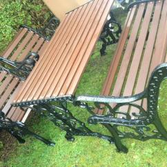 Cast Iron Table And Chairs Gumtree Baby Girl High Chair Lovely Ornate Hardwood Garden Furniture Set