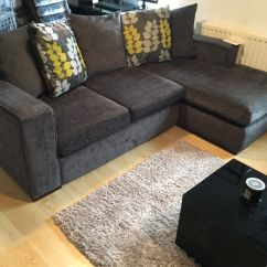 Dfs Corner Sofa Grey Fabric Contemporary Sofas Pillow Back Suite Chair And