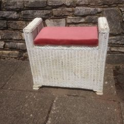 Bedroom Chair Gumtree Ferndown Gaming Ottoman Seat Shabby Chic Project Lloyd Loom In