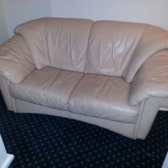 Pink Leather Sofas Dansk Sofa 2 Seater For Sale 20 Only In Aldgate