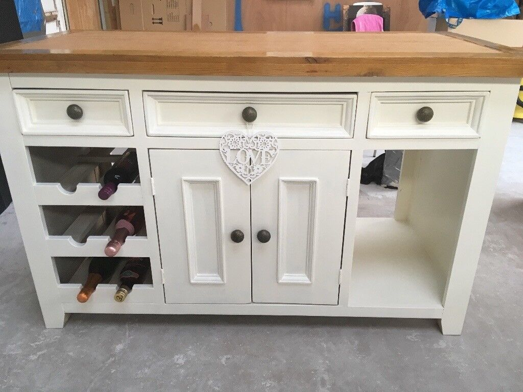 freestanding kitchen island country valances in portsmouth hampshire gumtree