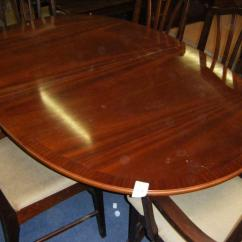 Dining Room Table And Chairs Gumtree Double Adirondack With Oval 6 In Finaghy Belfast