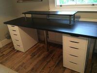 Kitchen Worktop Computer Desk. kitchen worktop with ...