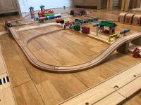 ELC Wooden World Train Set | in Bodmin, Cornwall | Gumtree