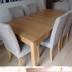 8 Seater Round Dining Table And Chairs Craftmaster Chair A Half Ikea Bjursta Buy Sale Trade Ads