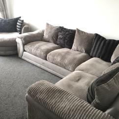 Snuggle Sofa And Swivel Chair Building A Dfs Corner Jupiar Range In Wigan