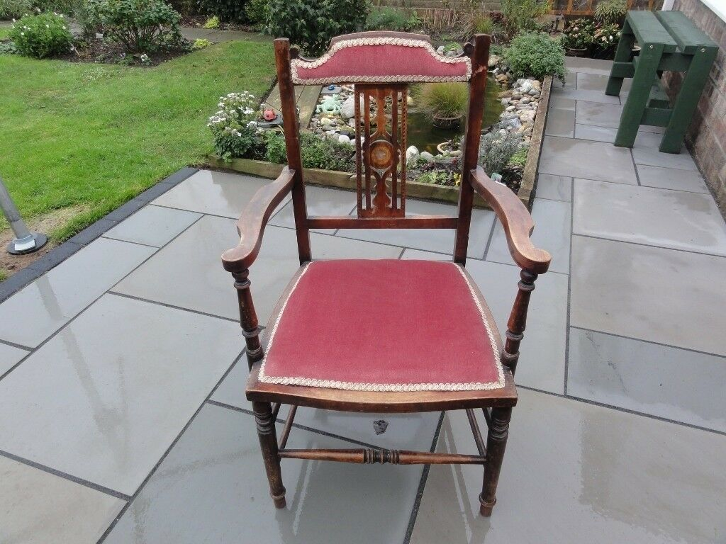 bedroom chair for clothes comfy 5 genuine victorian hall use as horse doll display etc