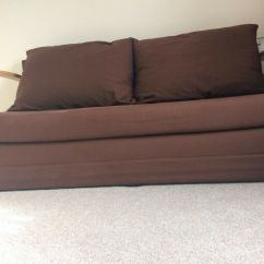 Mexico Futon Sofa Bed With Mattress Chocolate Colette Khaki Home Fizz 2 Seater Fabric In