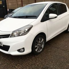 Toyota Yaris Trd 2013 Bekas All New Modifikasi 1 3 Sr Petrol Manual 5 Door White 37k