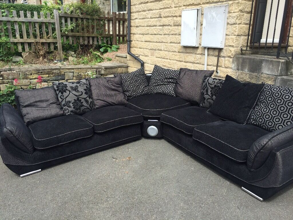 large dark grey corner sofa leather beds in melbourne black and dfs with docking station
