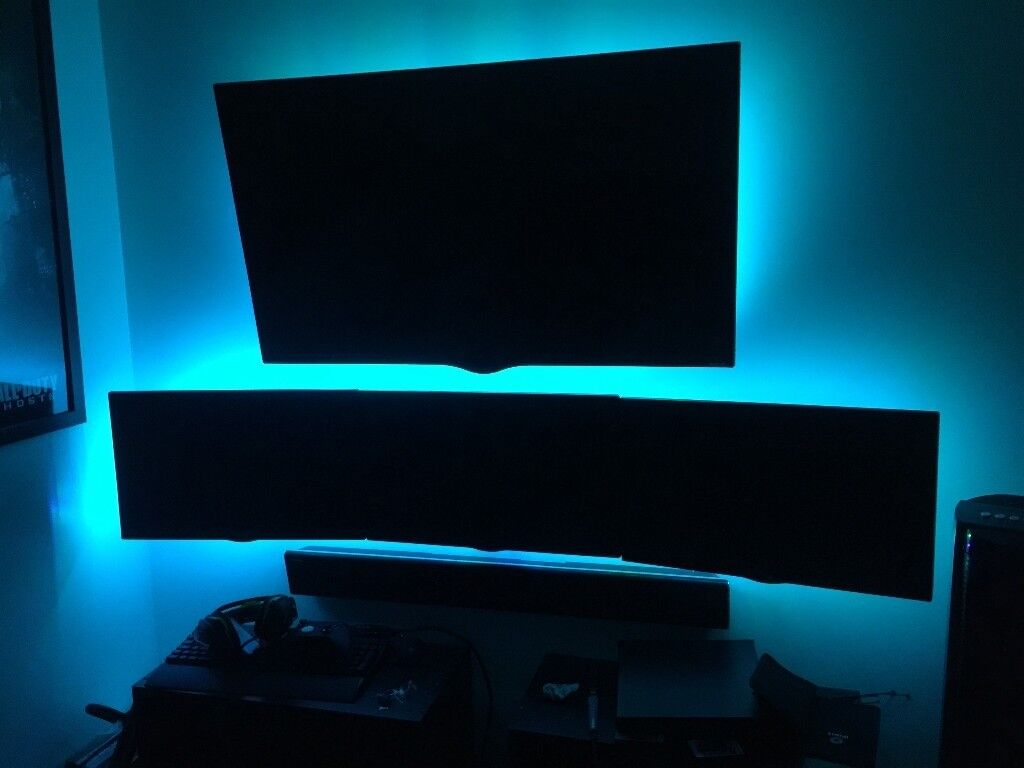 LG Triple Monitor Setup