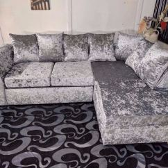 Bluebell Sofa Gumtree Storage Under Table Silver Crushed Velvet Corner Right Arm In Islington London