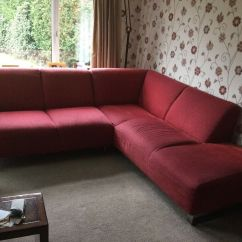 Red Leather Sofas Gumtree Manchester Quality West Midlands Cousins Corner Sofa In Cheadle Hulme