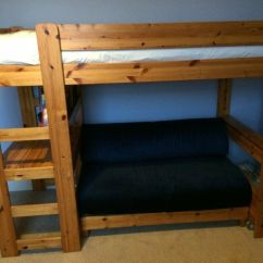 Sofa Sleeper For Cabin What Colour Cushions Go With Beige Leather Pine Stompa High Bed Built Under Pull