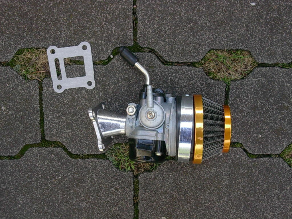 Tuning Vergaser Dirt Bike Pocketbike Kinderquad Mini Cross Pocket 49 50 cc NEU
