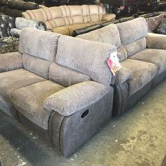 Grey Leather Sofas Harveys Ikea Futons And Sofa Beds Arlington Cord Fabric Recliner 3 2 Seater