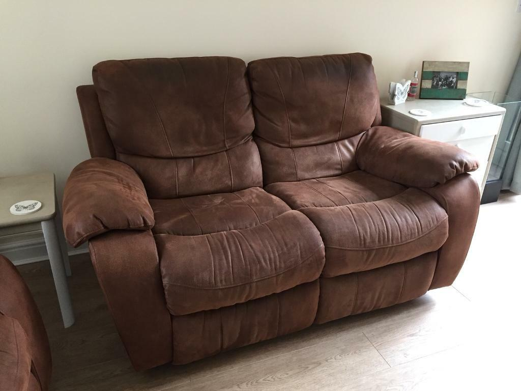 faux suede sofa cleaning instructions urban barn manhattan review harveys and rocker armchair in