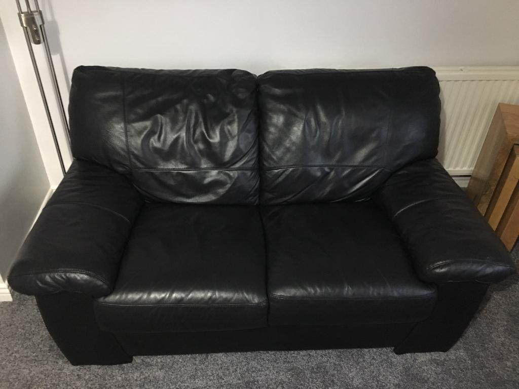 black leather sofas on gumtree pink patchwork sofa dfs 2 seater in denny falkirk
