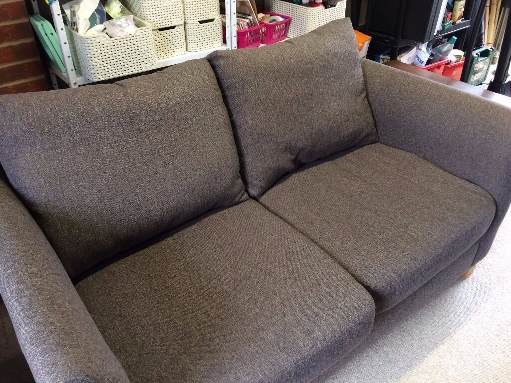 grey fabric sofa next cindy crawford calista reviews two seater light in