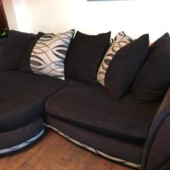 Sofa Collection Charity Leicester The Shop Black And Grey Dfs Corner In Glenfield