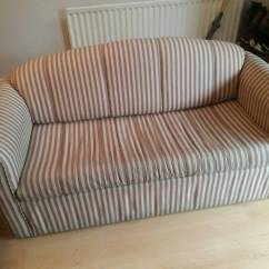 Sofa Bed Reduced Oxford Chesterfield Stripey For Sale In Norwich Norfolk