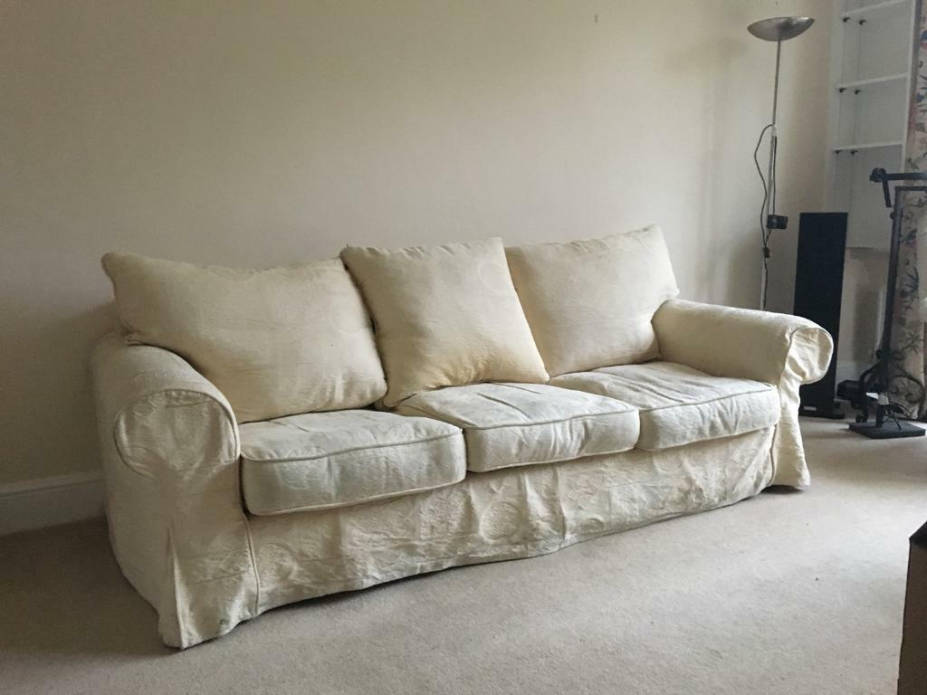 cream soft fabric sofa faux suede reviews nice big comfy very comfortable in