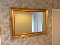 Large Gold Framed Wall Mirror | in Northern Moor ...