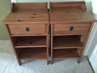IKEA Leksvik bedside tables | in Woking, Surrey | Gumtree