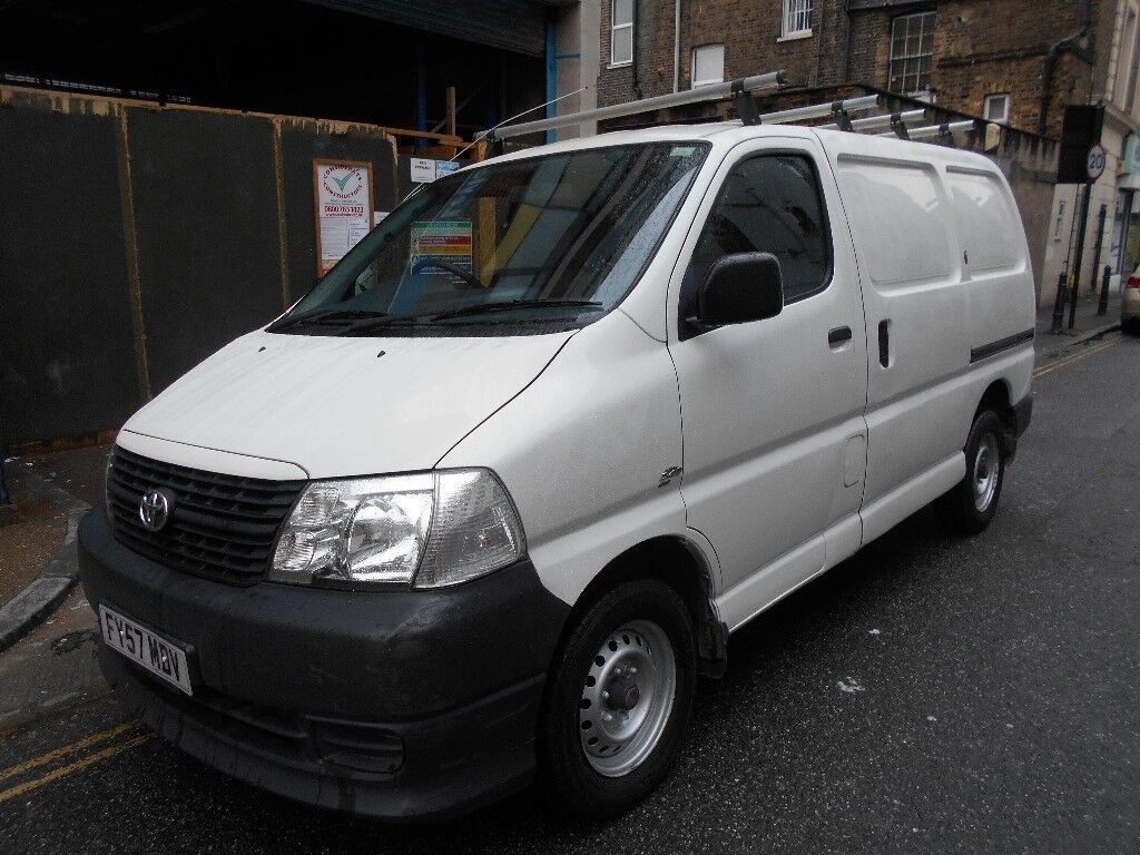 2007 Toyota Hiace D 4d 280 95td Panel Van Security Locks