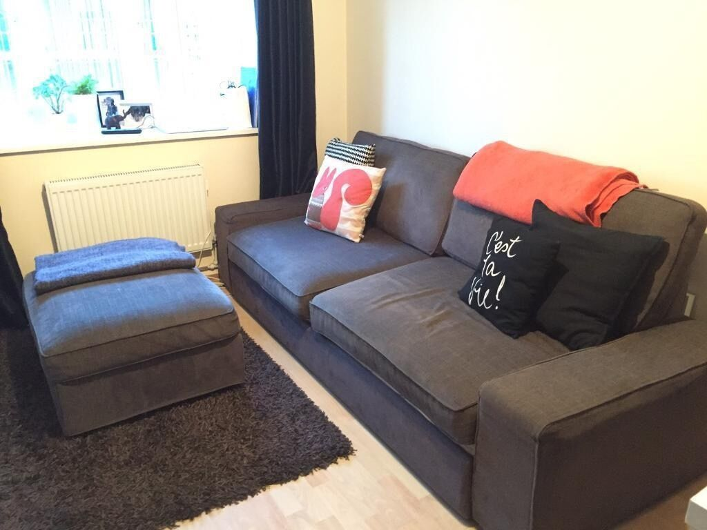 single sofa bed gold coast loveseat leather footstool charcoal muji 2 seater and