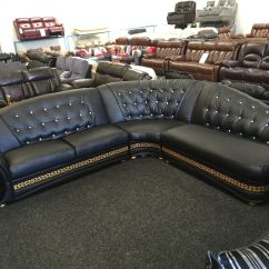 Versace Sofa Best Brand Leather Sectional Sofas Logo Home Collection A Son S