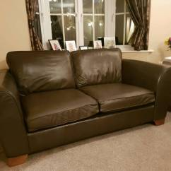 One And Half Seater Sofa Leather Power Reclining Costco Marks Spencer Matching Seat Footstall