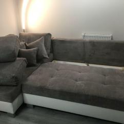 Corner Sofa Bed West London Chesterfield Tufted Leather Sleeper Brand New In North Gumtree