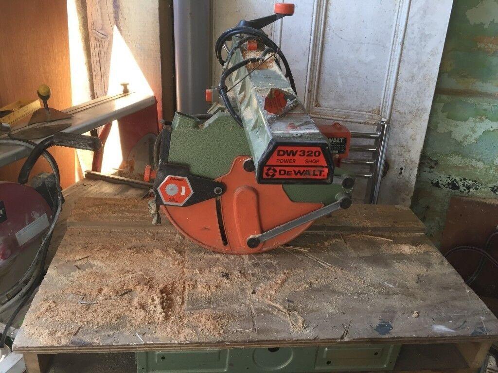 Dewalt 320 Radial Arm Saw