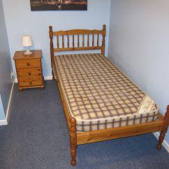 Bedroom Chair Gumtree Ferndown Office Posture Support Antique Pine Furniture Bed Bedside Unit