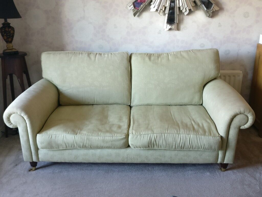 chesterfield sofa gumtree ni pottery barn pb basic sleeper slipcover green laura ashley in dundonald belfast