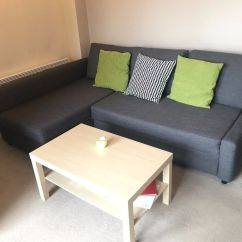 Corner Sofa Bed Skiftebo Dark Grey York Harvey Norman With Storage Friheten