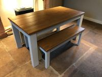 Dining table bench set - Next Hartford painted bench set ...