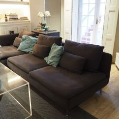 One Seat Sofa Bed Ikea Tribeca Soderhamn Three-seat And Chaise Long (also ...