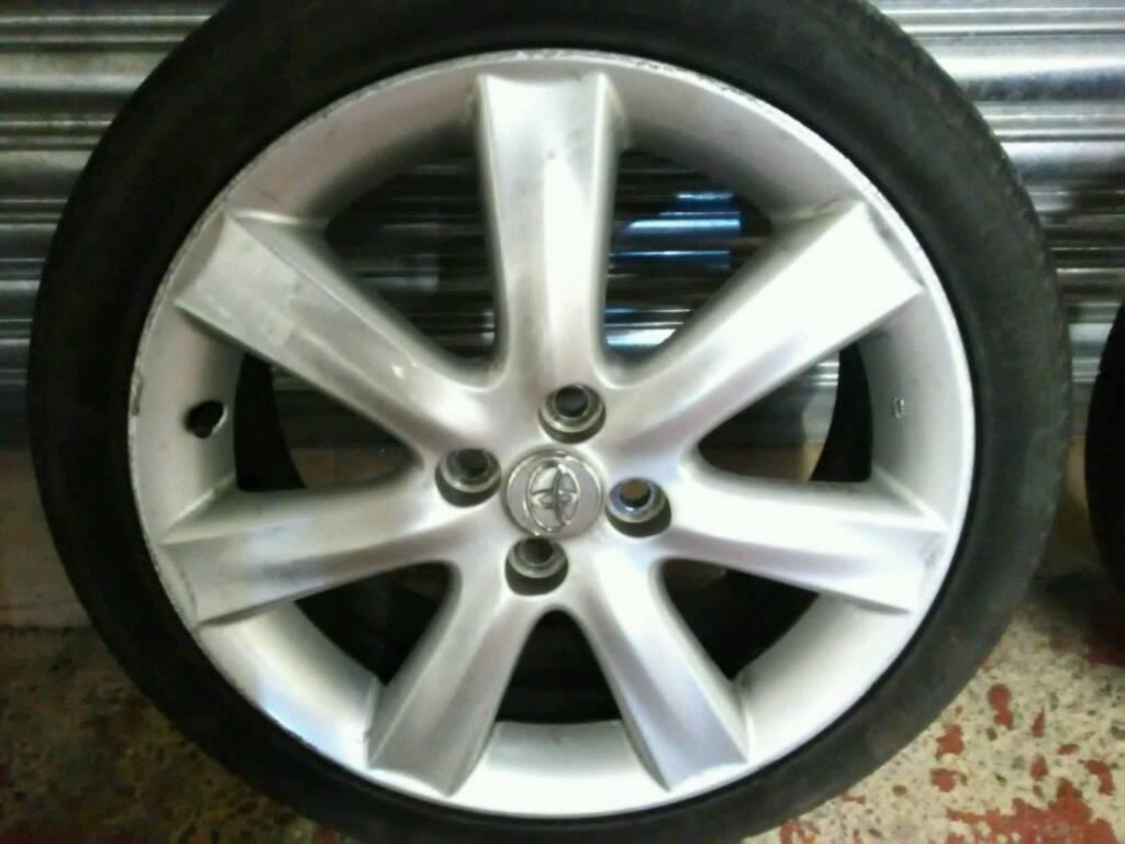 toyota yaris ts trd grand new veloz kaskus genuine rare 2009 sr t sport 1 8 vvti 17 inch alloy wheels set of 4