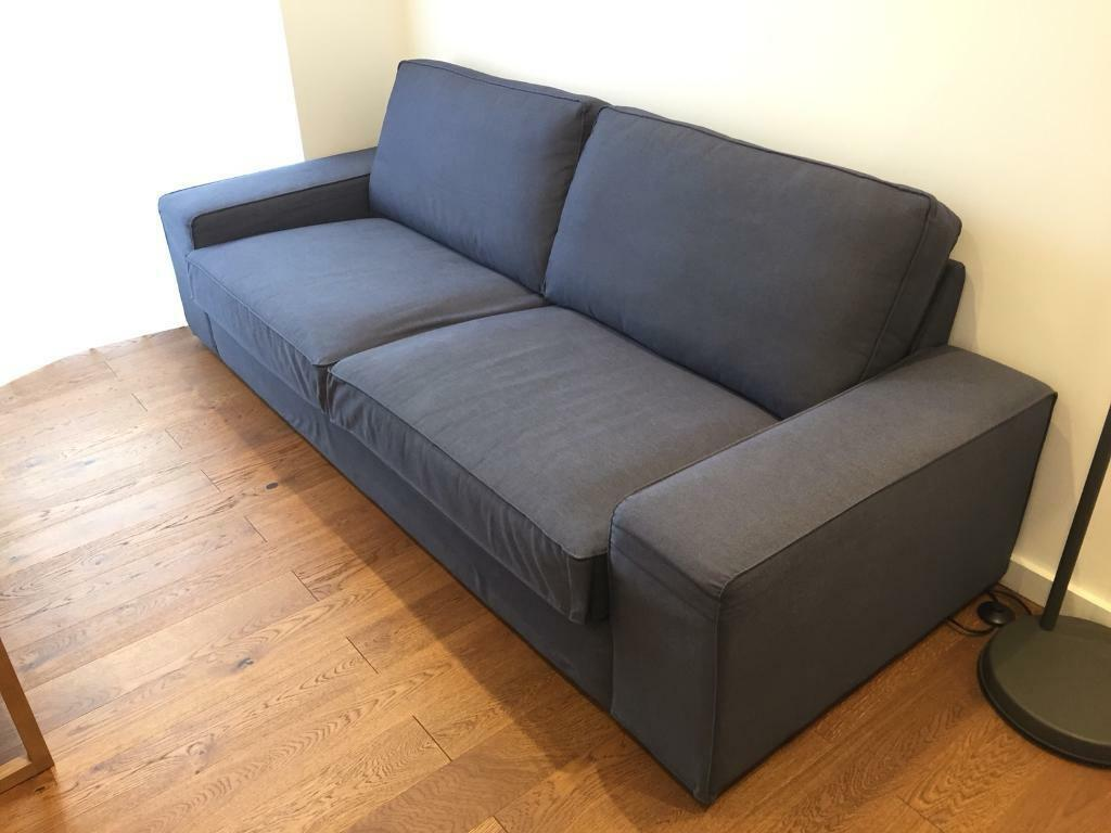 gumtree bristol ikea sofa bed leather color fading 3 seat kivik in gloucester road