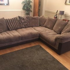 Corner Sofas Glasgow Gumtree Dfs French Connection Zinc Sofa Leather And Matching Chair In West End