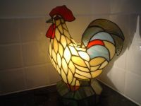 TIFFANY STYLE ROOSTER LAMP | in Cowdenbeath, Fife | Gumtree